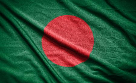 bangladesh: bangladesh flag Stock Photo
