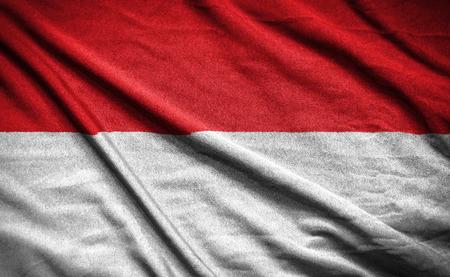 bandera blanca: bandera indonesia