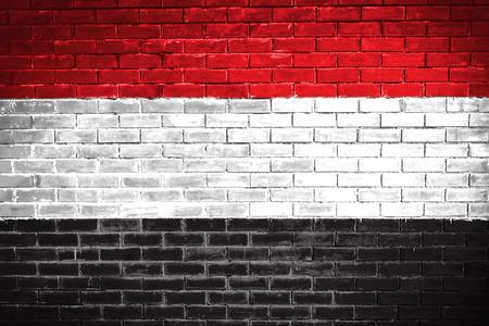 yemen: yemen flag,wall texture background