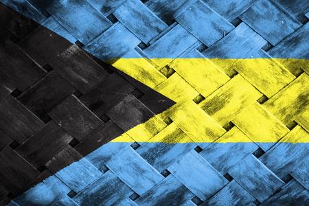 bahama: bahamas flag,Weave Bamboo