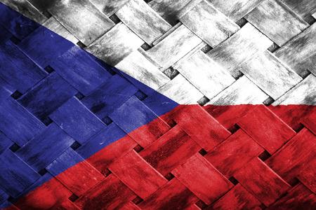 weave: czech flag , Weave Bamboo
