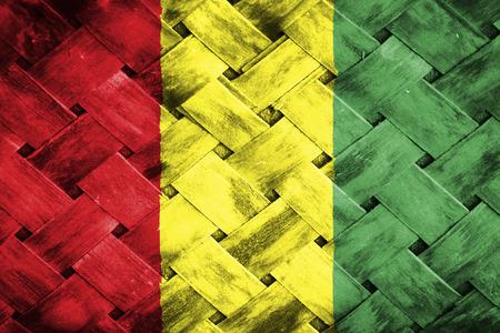 thatch: guinea flag,Weave Bamboo
