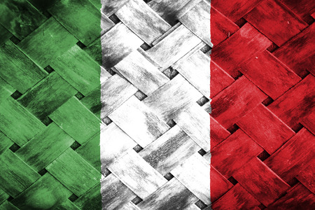 weave: italy flag,Weave Bamboo