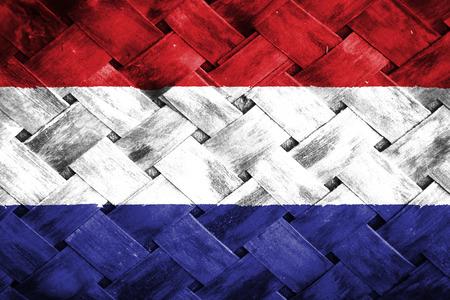 weave: netherlands flag,Weave Bamboo