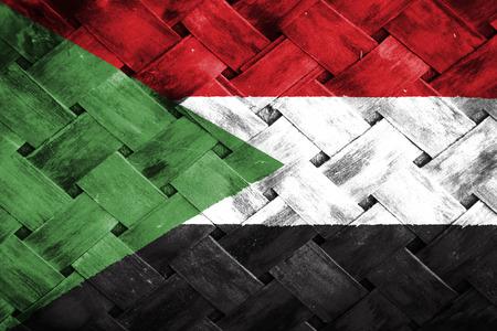 weave: sudan flag,Weave Bamboo