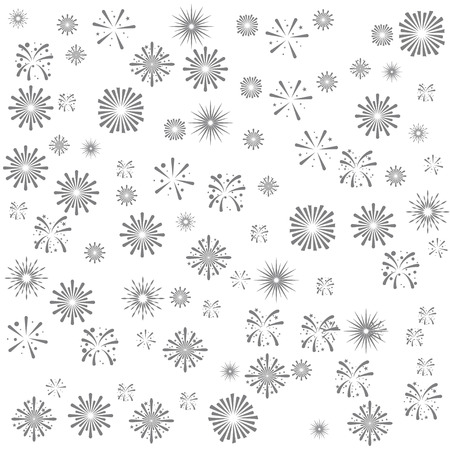 fire works   background  seamless Vectores