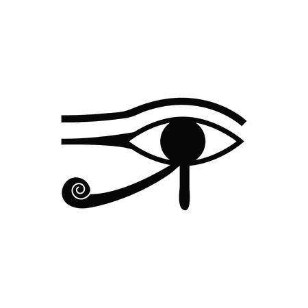 occhio di horus: occhio di Horus vettore