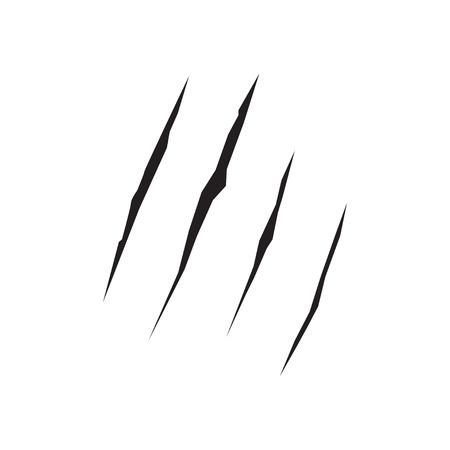 zombie scratch  vector Illustration