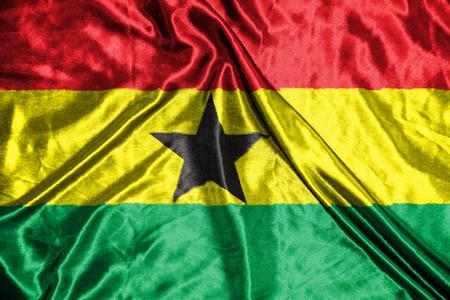 ghana: ghana. flag Stock Photo