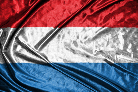 luxembourg: luxembourg flag Stock Photo