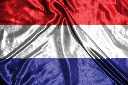 netherland: netherland flag Stock Photo