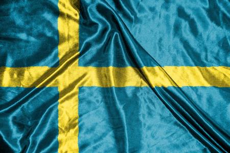 sweden flag: bandiera della Svezia
