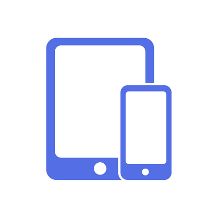 tablet vector: phone and tablet vector Illustration