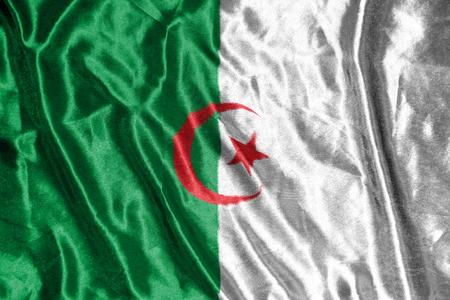 algeria: algeria  flag Stock Photo