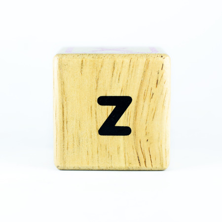 english letters: English letters on the wood
