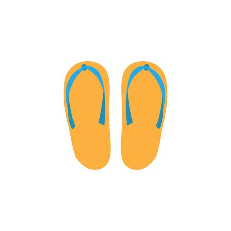 slippers: slippers vector Illustration