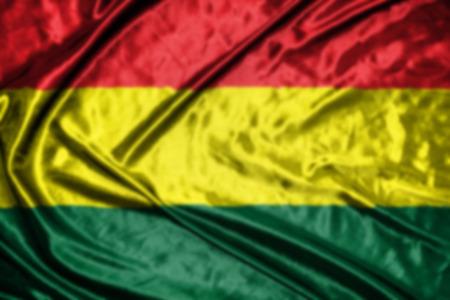 bandera de bolivia: bandera de Bolivia, fondo borroso abstracto