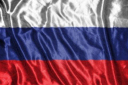 russia flag: russia flag,abstract blurred background