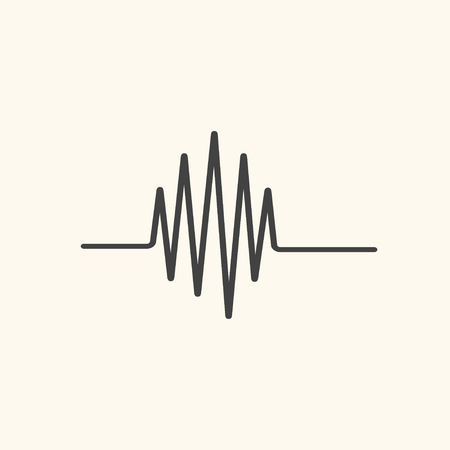 elettrocardiogramma: elettrocardiogramma vettore