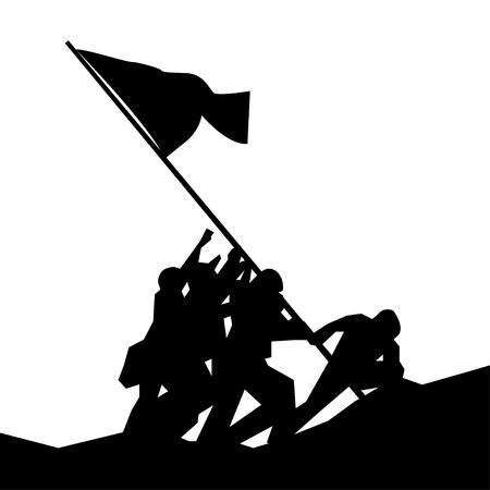 復員軍人の日ベクター  イラスト・ベクター素材