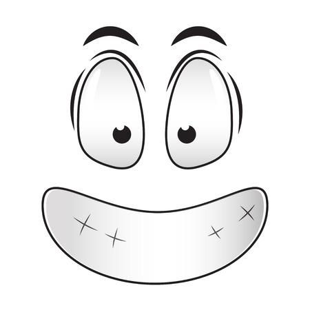 emotion: smile emotion Illustration