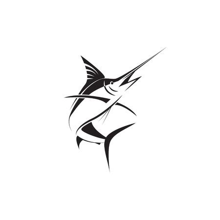 marlin pescado Ilustración de vector