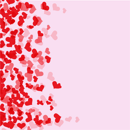abstract heart background: heart background