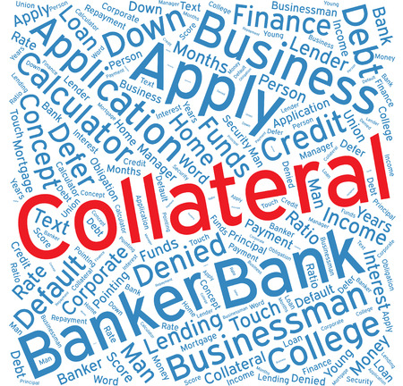 collateral: Collateral,Word cloud art  background