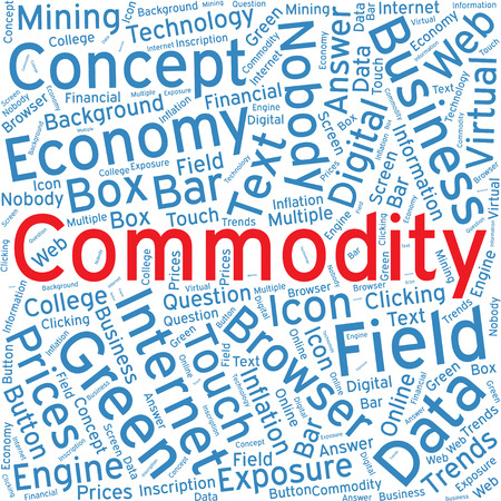 commodity: Commodity,Word cloud art  background