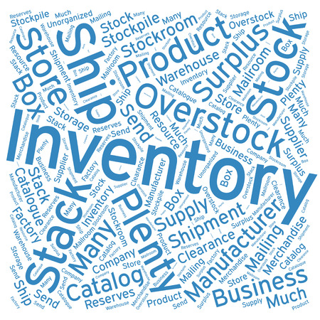inventory: Inventory ,Word cloud art  background