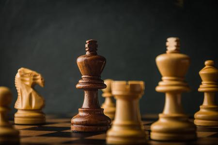 체스 게임 스톡 콘텐츠 - 55703342
