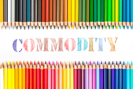 commodity: Commodity drawing by colour pencils