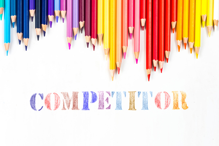 competitor: Colour pencils with draw competitor