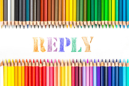 reply: reply drawing by colour pencils