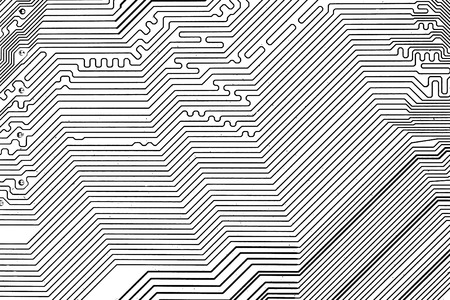 electric circuit: Electric Circuit, Black&white for background