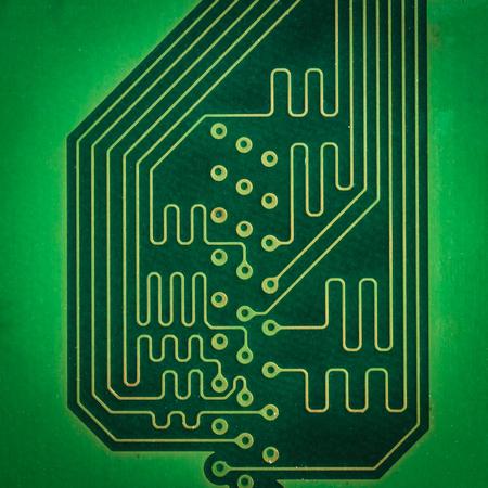 electronic background: Electronic Circuits  isolated on white background