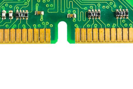circuitos electronicos: Circuitos electrónicos aislados sobre fondo blanco Foto de archivo