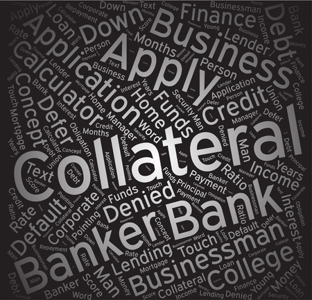 Collateral, Word cloud art background