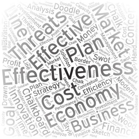effectiveness: Effectiveness, Word cloud art background
