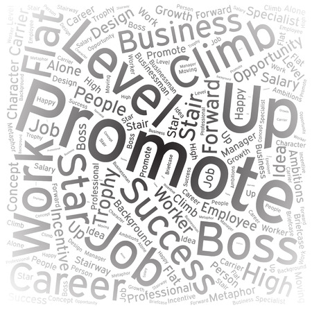 promote: Promote ,Word cloud art background