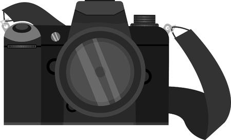 slr: SLR camera ,Photo camera illustration
