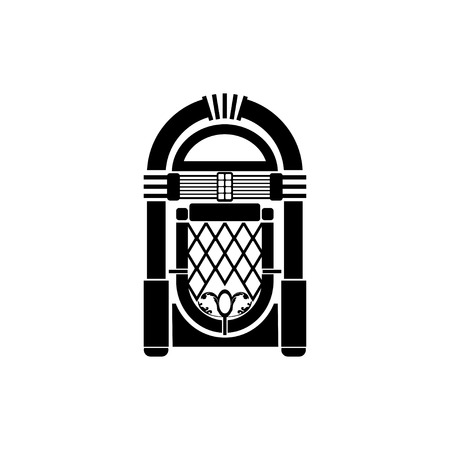 Vector Retro Jukebox Icon