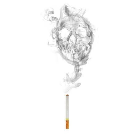 두개골 연기 효과와 담배