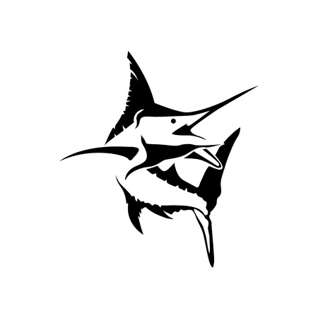 marlin: marlin fish Illustration