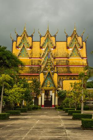 wiwekaram: Wat Wang Wiwekaram,,Sangkhlaburi, Kanchanaburi, Thailand