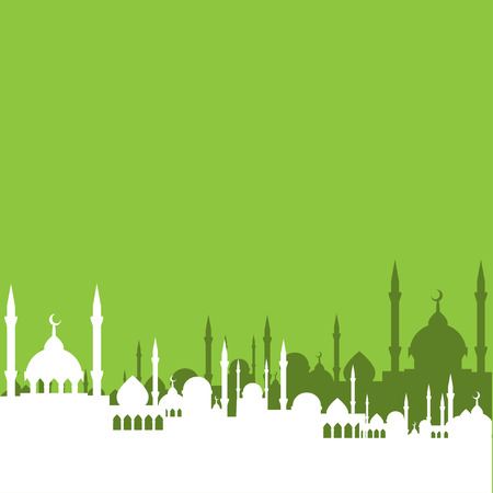 cupola: mosque vector Illustration