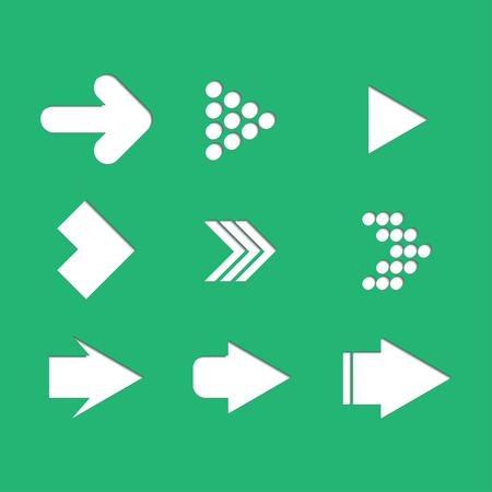 arrow set: Arrow. set , vector icon set