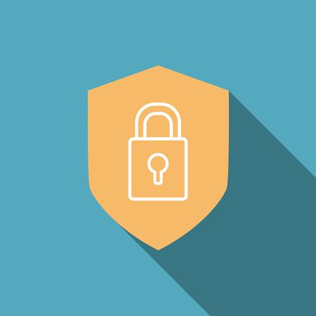 lock symbol: lock symbol   security icon , vector