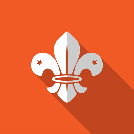scouting: Fleur de lis - French symbol design, Scouting organizations, French heralry
