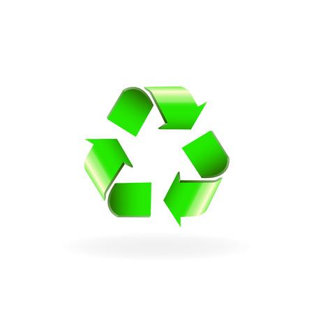 simbol: Recycle simbol ,Recycle symbol Vettoriali